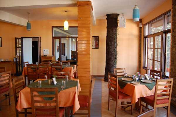Kasaar Jungle Resort Dining Area