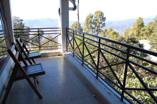 Kasaar Jungle Resort Balcony