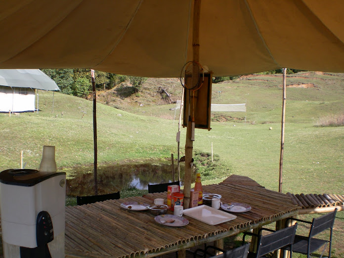 Maggie Eco Camp Dining