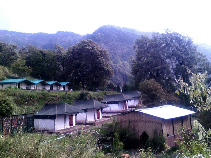 Camp Shivas Den Pangot